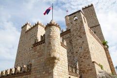 Castillo de Лам, около к Tarapoto, Перу стоковая фотография rf