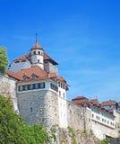 Castillo de Aarburg Foto de archivo libre de regalías