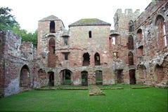 Castillo de Acton Burnell (este) Fotos de archivo libres de regalías