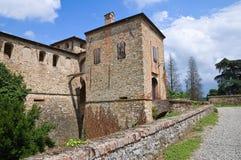 Castillo de Agazzano. Emilia-Romagna. Italia. Fotos de archivo