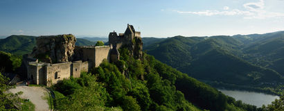 Castillo de Aggstein, Wachau, Austria Fotos de archivo libres de regalías