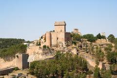 Castillo de Alarcón fotografía de archivo