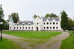 Castillo de Alatskivi imágenes de archivo libres de regalías