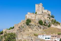 Castillo de Alburquerque Imagenes de archivo
