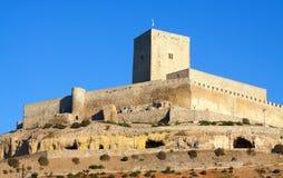 Castillo de Alcaudete Fotografía de archivo libre de regalías