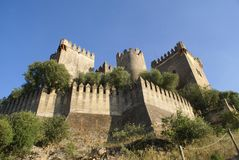 Castillo de Almodovar del Rio in Cordoba, Spain Royalty Free Stock Photography
