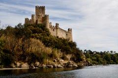 Castillo de Almourol Imagen de archivo libre de regalías