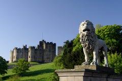 Castillo de Alnwick fotos de archivo
