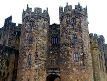 Castillo de Alnwick Imágenes de archivo libres de regalías