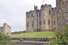 Castillo de Alnwick Foto de archivo