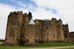 Castillo de Alnwick Imagen de archivo