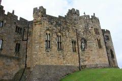 Castillo de Alnwick Fotografía de archivo
