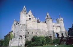Castillo de Amberes Imágenes de archivo libres de regalías