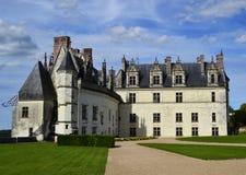 Castillo de Amboise en el valle del Loira, Francia fotos de archivo libres de regalías
