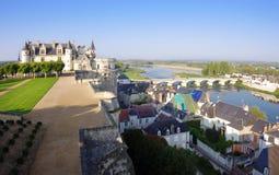 Castillo de Amboise, Francia Foto de archivo