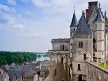 Castillo de Amboise y el Loire Valley imágenes de archivo libres de regalías
