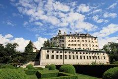 Castillo de Ambras, Innsbruck Imagen de archivo libre de regalías