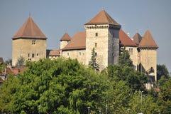 Castillo de Annecy imagen de archivo libre de regalías