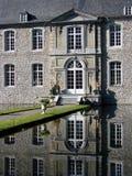 Castillo de Annevoi, Bélgica Foto de archivo