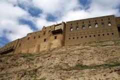 Castillo de Arbil fotografía de archivo libre de regalías