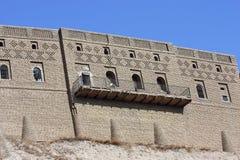 Castillo de Arbil imagenes de archivo