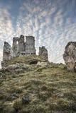 Castillo de Ardvreck en el lago Assynt en Escocia Imagen de archivo