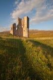 Castillo de Ardvreck, Sutherland, Escocia Fotos de archivo libres de regalías