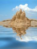 Castillo de arena Imagen de archivo libre de regalías