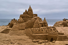 Castillo de arena Imagenes de archivo