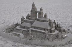 Castillo de arena en el del Coronado del hotel en California Imágenes de archivo libres de regalías