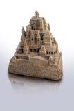 Castillo de arena grande Imágenes de archivo libres de regalías