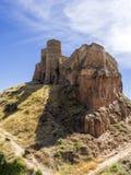 Castillo de Arnedo Foto de archivo
