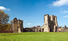Castillo de Ashby Imagen de archivo libre de regalías