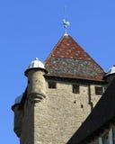 Castillo de Aubenas, Ardeche, Provence, Francia Fotografía de archivo libre de regalías