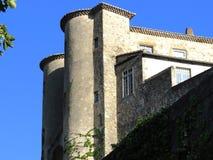 Castillo de Aubenas, Ardeche, Provence, Francia Imágenes de archivo libres de regalías
