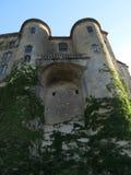 Castillo de Aubenas, Ardeche, Provence, Francia Fotos de archivo