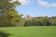 Castillo de Ayton del sur, Berwickshire fotos de archivo libres de regalías