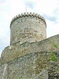 Castillo de BÄ™dzin - un castillo de piedra Fotografía de archivo