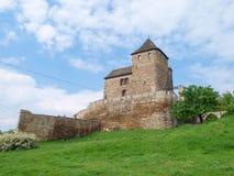 Castillo de BÄ™dzin - un castillo de piedra Foto de archivo