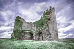 Castillo de Ballycarbery, condado Kerry, Irlanda Fotografía de archivo libre de regalías