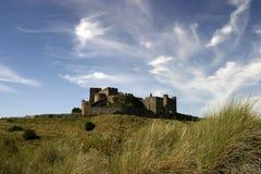 Castillo de Bamburgh Imagen de archivo libre de regalías