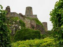 Castillo de Bamburgh Imágenes de archivo libres de regalías