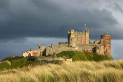 Castillo de Bamburgh. Imagen de archivo libre de regalías