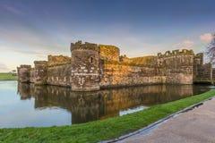 Castillo de Beaumaris fotos de archivo libres de regalías
