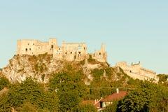 Castillo de Beckov fotografía de archivo libre de regalías