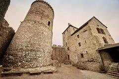 Castillo de Bedzin Foto de archivo
