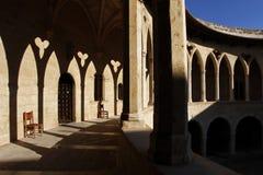 Castillo de Bellver Imagen de archivo