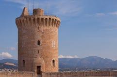 Castillo de Bellver, Palma, Majorca Foto de archivo