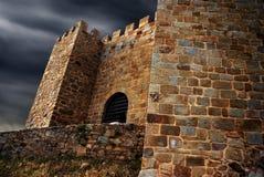 Castillo de Belver Foto de archivo