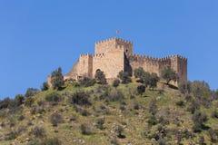 Castillo de Belver fotos de archivo libres de regalías